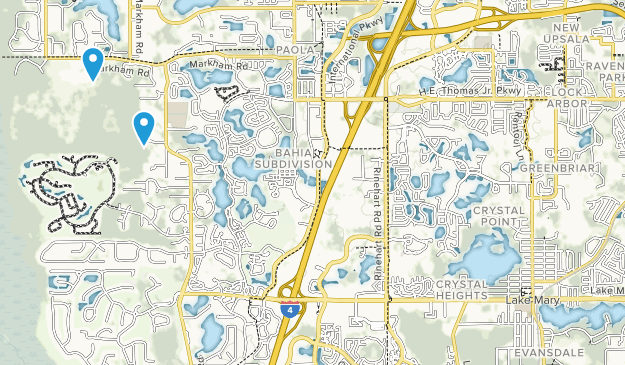 Crystal Lake Florida Map.Best Trails Near Lake Mary Florida Alltrails
