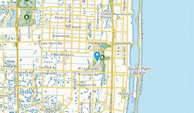Lake Worth, Florida Map