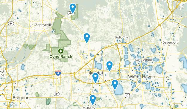 Lakeland, Florida Map