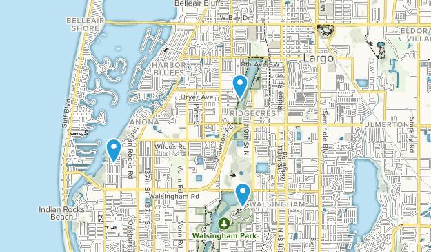 Largo, Florida Map