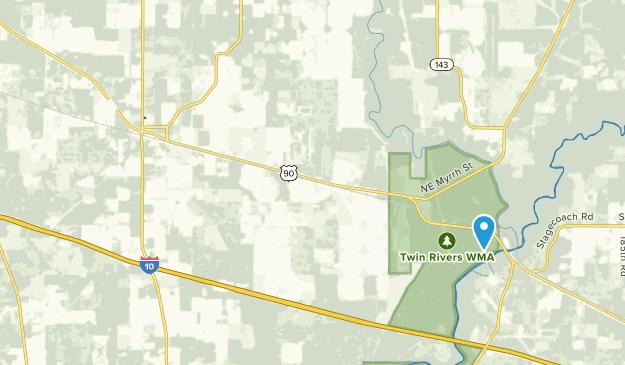 Lee, Florida Map