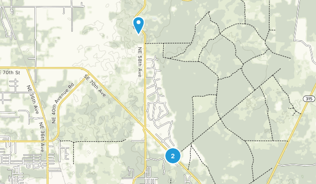 Lindale Mobile Home Park, Florida Map