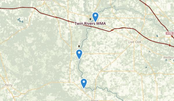 Live Oak, Florida Map