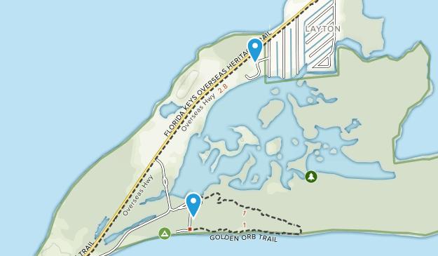 Long Key, Florida Map