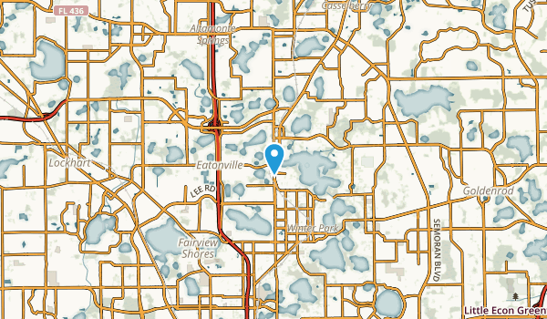 Maitland, Florida Map