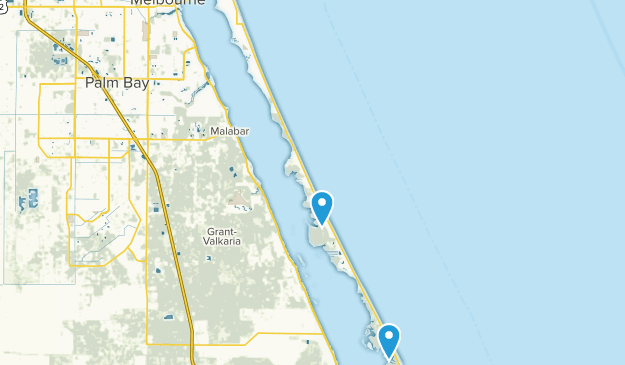 Map Of Melbourne Beach Florida.Best Trails Near Melbourne Beach Florida Alltrails