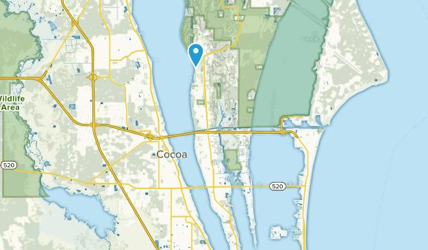Merritt Island, Florida Map