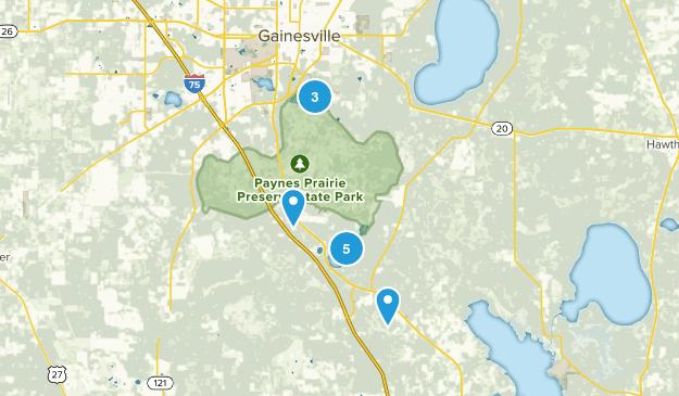 Micanopy, Florida Map