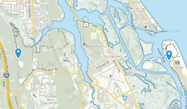 New Smyrna, Florida Map