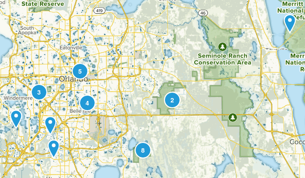 Orlando, Florida Map