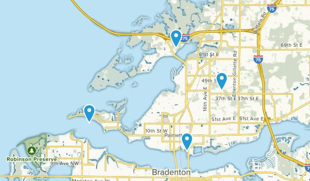 Palmetto, Florida Map