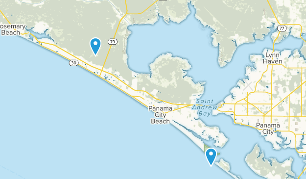 Panama City, Florida Map