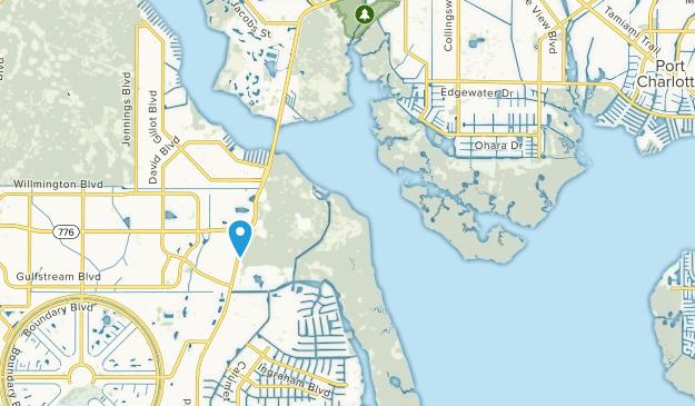 Port Charlotte, Florida Map