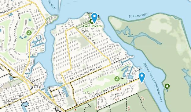Port Salerno, Florida Map
