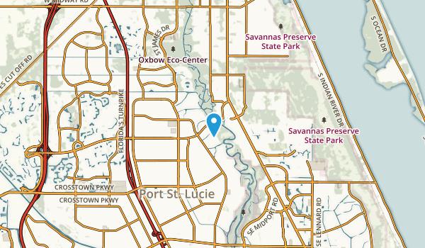 Port St Lucie, Florida Map