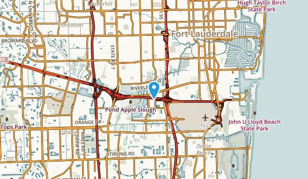 Riverland, Florida Map