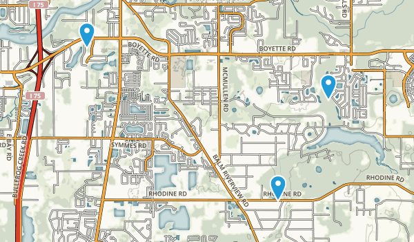 Riverview, Florida Map