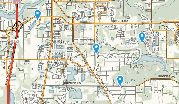 Riverview, Florida Map