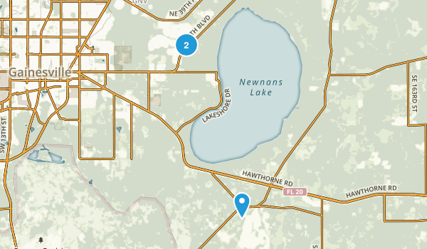 Rochelle, Florida Map