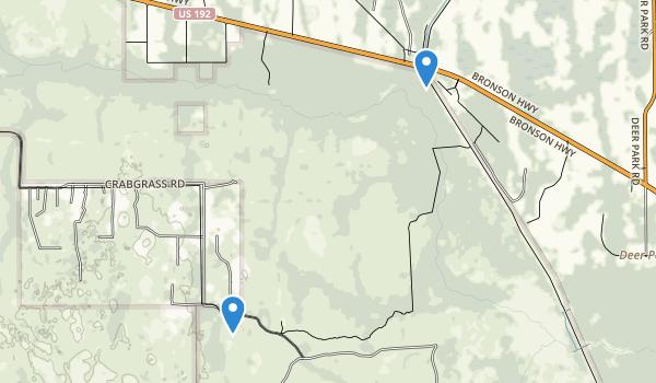 Saint Cloud, Florida Map