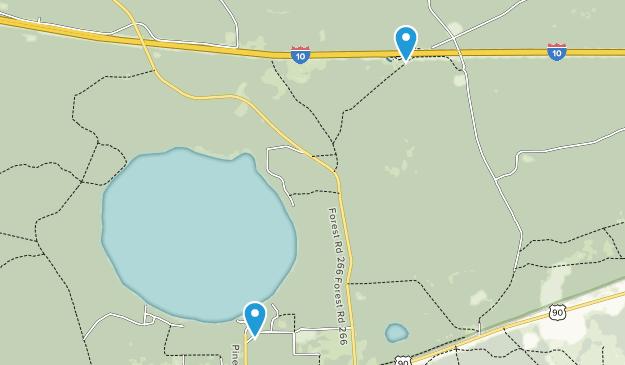 Sanderson, Florida Map