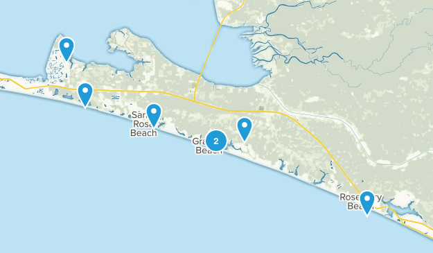 Santa Rosa Beach, Florida Map