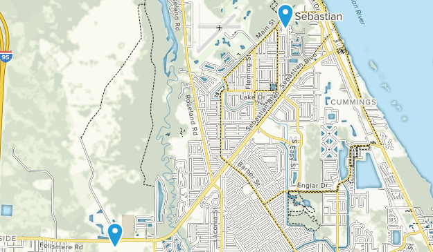 Map Of Sebastian Florida.Best Trails Near Sebastian Florida Alltrails