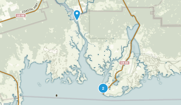 St. Marks, Florida Map