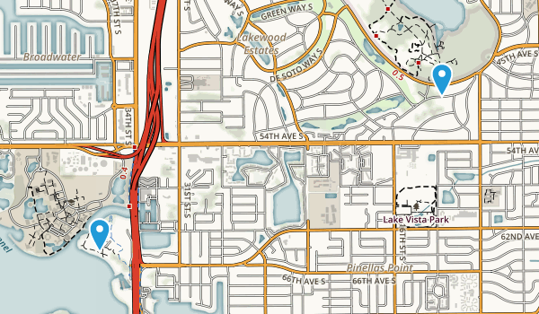 St. Petersburg, Florida Map