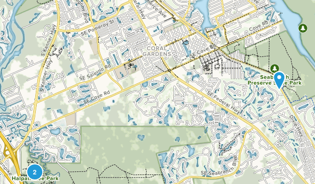 Stuart, Florida Map