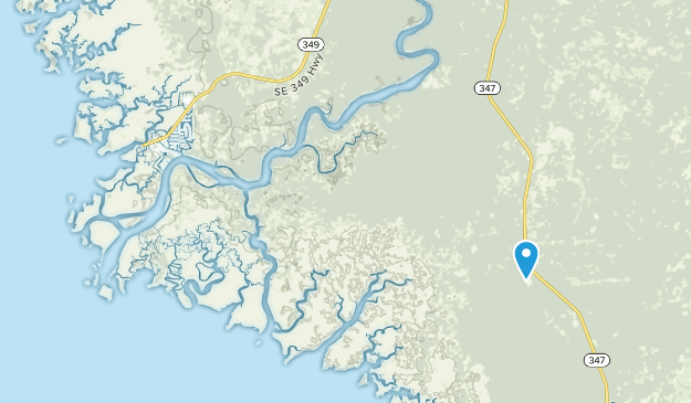 Suwannee, Florida Map