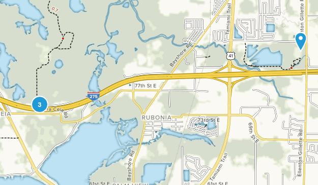Terra Ceia, Florida Map