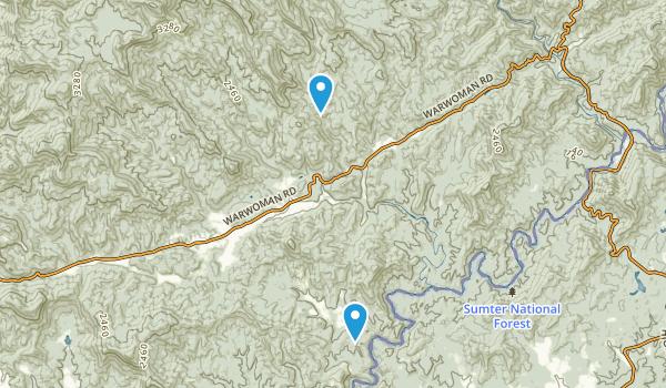 Antioch, Georgia Map