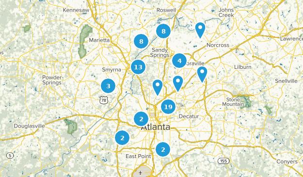 Beste Wege in der Nähe von Atlanta, Georgia   AllTrails