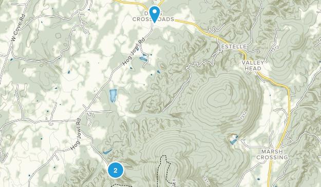 Chickamauga, Georgia Map