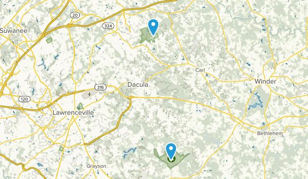 Best Trails Near Dacula Georgia Alltrails