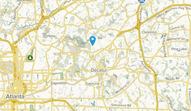 Decatur, Georgia Map