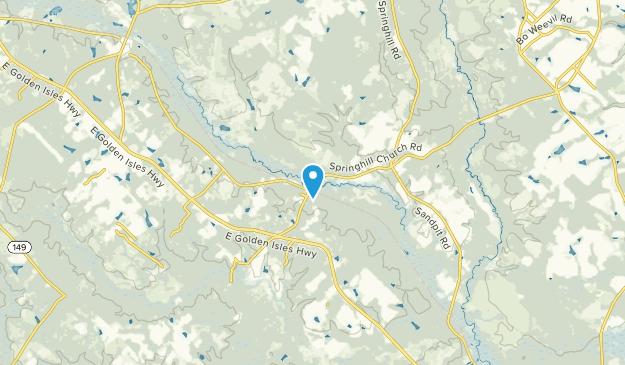 McRae, Georgia Map