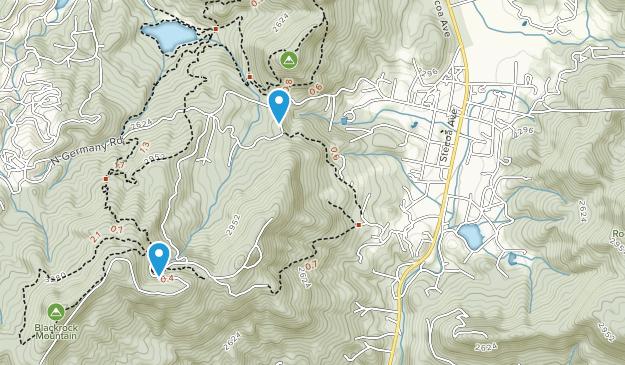 Mountain City, Georgia Map