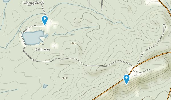 pine mountain georgia map