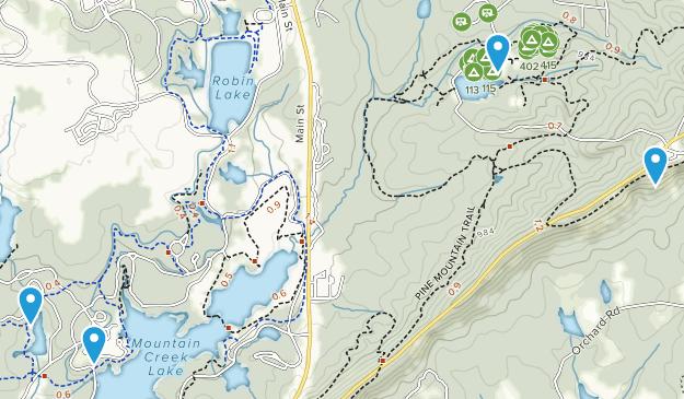 Pine Mountain, Georgia Map