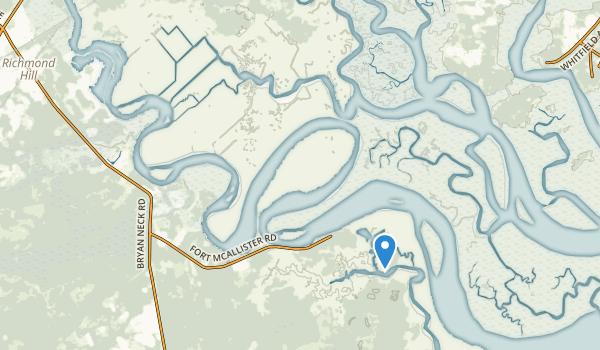 Richmond Hill, Georgia Map