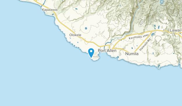 Hanapepe, Hawaii Map