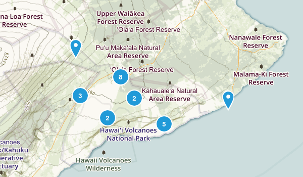 Best Trails near Hawaii National Park Hawaii AllTrails