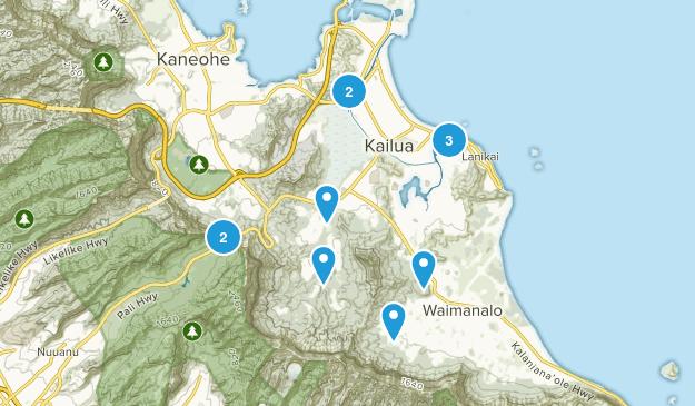 Kailua, Hawaii Map