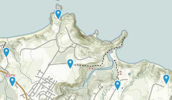 Kilauea, Hawaii Map
