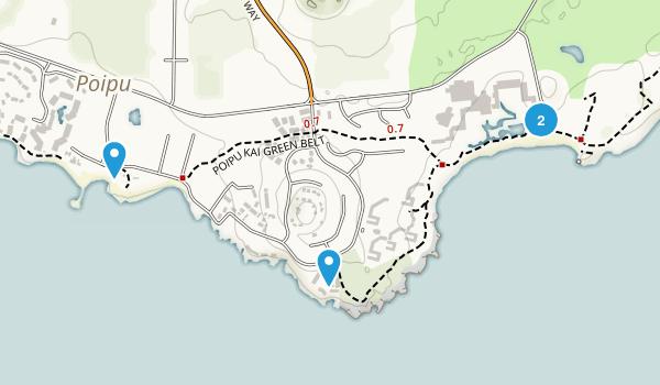 Koloa, Hawaii Map