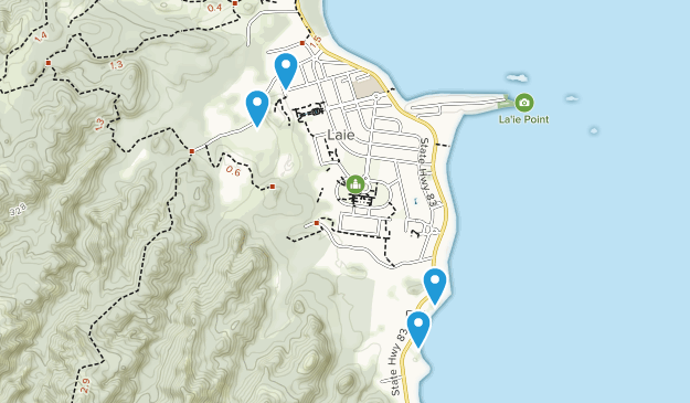 Laie, Hawaii Map