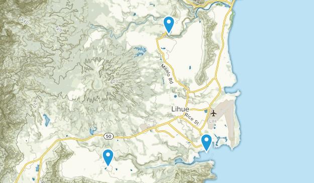 Lihue, Hawaii Map