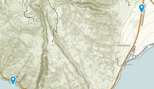 Maalaea, Hawaii Map